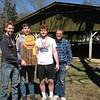UCHS team, 1st place Varsity (Noa, Eric, Jordan, with Coach Minium).  Mahlon not pictured.