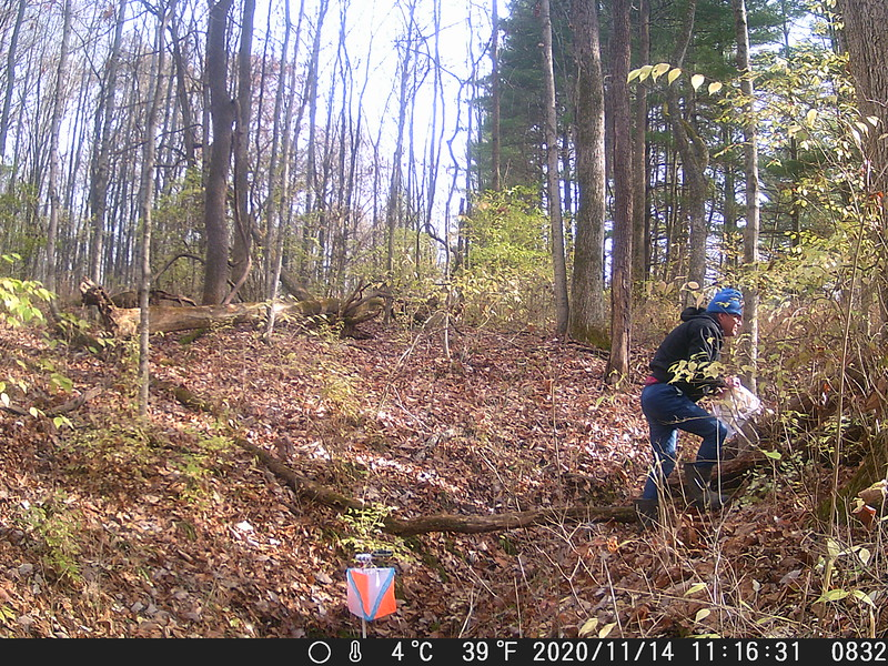 Time stamps on Trail Cam images are about 70 minutes late.<br /> Course Setter Mike Minium