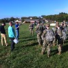Thurston Miller gives instruction to Univ of Kentucky ROTC team.