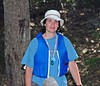 <b>Liz Brooks finishing the canoe-O</b>   (Sep 12, 2004, 11:47am)