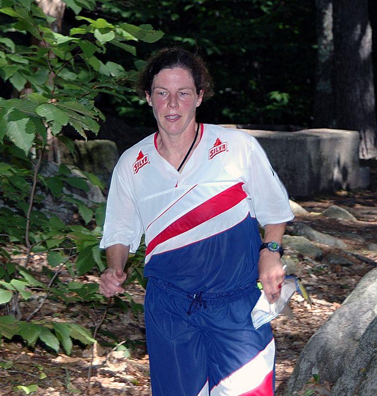 <b>Kristin Hall races to the finish</b>   (Sep 12, 2004, 11:52am)