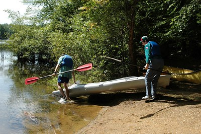 Putting the kayak into the water   (Sep 11, 2004, 11:55am)