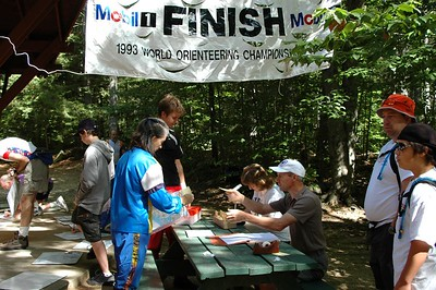 The foot-O start and finish area   (Sep 11, 2004, 10:50am)