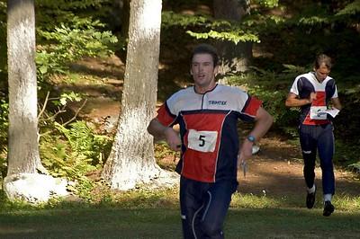 Eric Bone (COC) races in the Sprint-O   (Sep 10, 2005, 04:42pm)