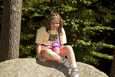 Eating cookies on hang-out rock   (Sep 10, 2005, 11:48am)