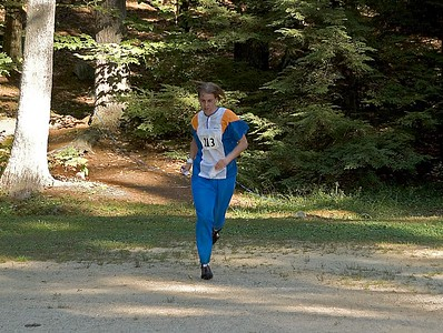 Another Sprint-O runner emerges from the woods   (Sep 10, 2005, 04:45pm)