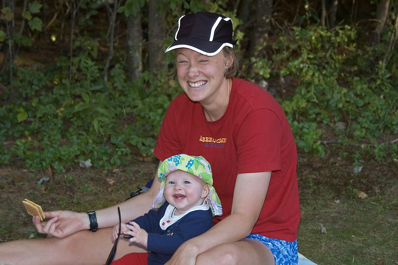 <b>Tori Campbell shares a smile</b>   (Sep 10, 2005, 05:09pm)