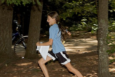 Melissa Gray races to the foot-O finish   (Sep 10, 2005, 01:21pm)