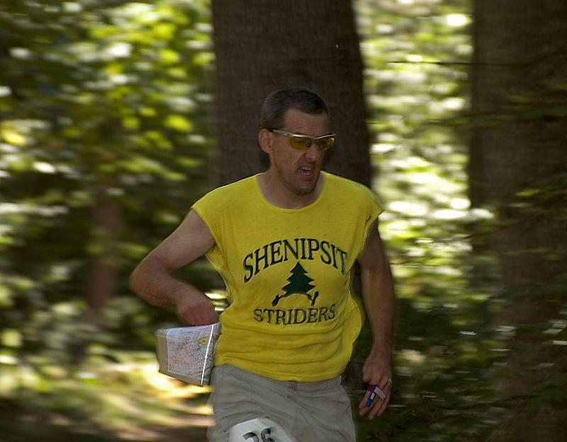 <b>Clint Morse running a foot-O course</b>   (Sep 10, 2005, 01:27pm)