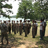 JROTC activities - included an obstacle course, rope bridge, high ropes and aquatics.