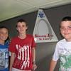 Addison, Sam, and Brennan, June 1, Gateway Arch, St. Louis, MO