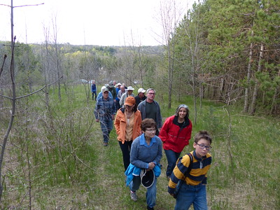 WBFN members walking the trails