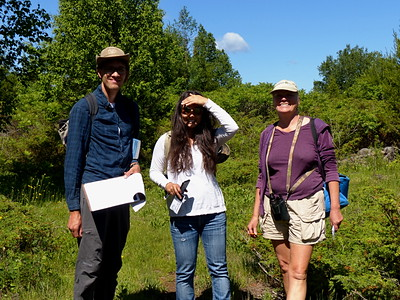 Shari (middle) is from the KLT and organized our outing.