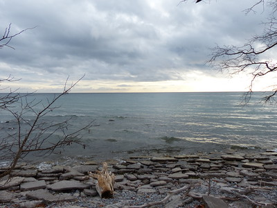 View of Lake Ontario from Waterfront Trail