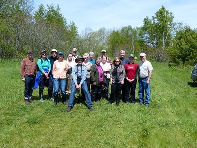 PFN members after great walk along Ballyduff Trails