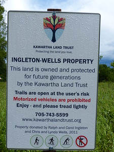 Ingleton-Wells property sign