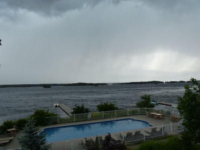 Storm watching at Viamede Resort