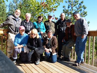 PFN members at Fleetwood Creek Natural area lookout