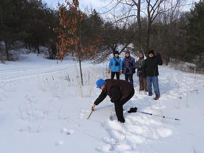 PFN members measuring and identifying tracks