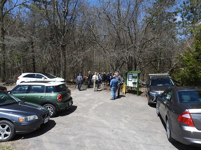 Parking lot at Laurie Lawson Outdoor Education Centre