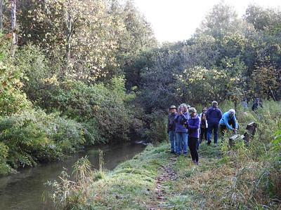 PFN members along Baxter Creek