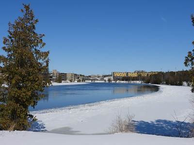 Otonabee River at Trent University