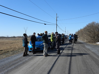 PFN members on one of their birding stops
