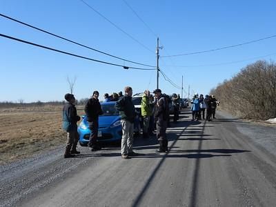 PFN members on one of their birding stops
