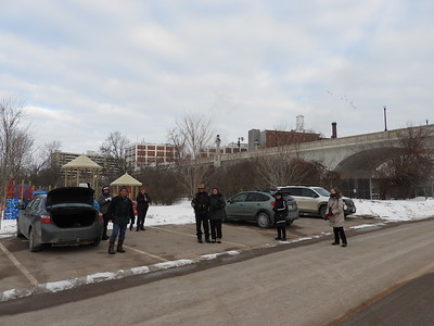 PFN members led by Scott McKinlay out birding in Peterborough