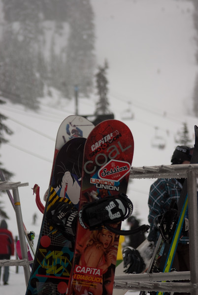 Skiing and Cabin 2011