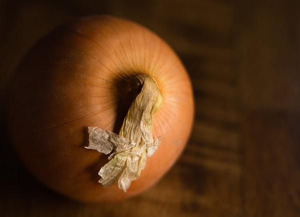 Decorated Onion