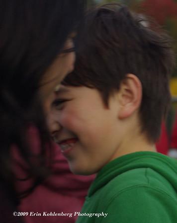 Ryan's brother, Ben. Camera shy!