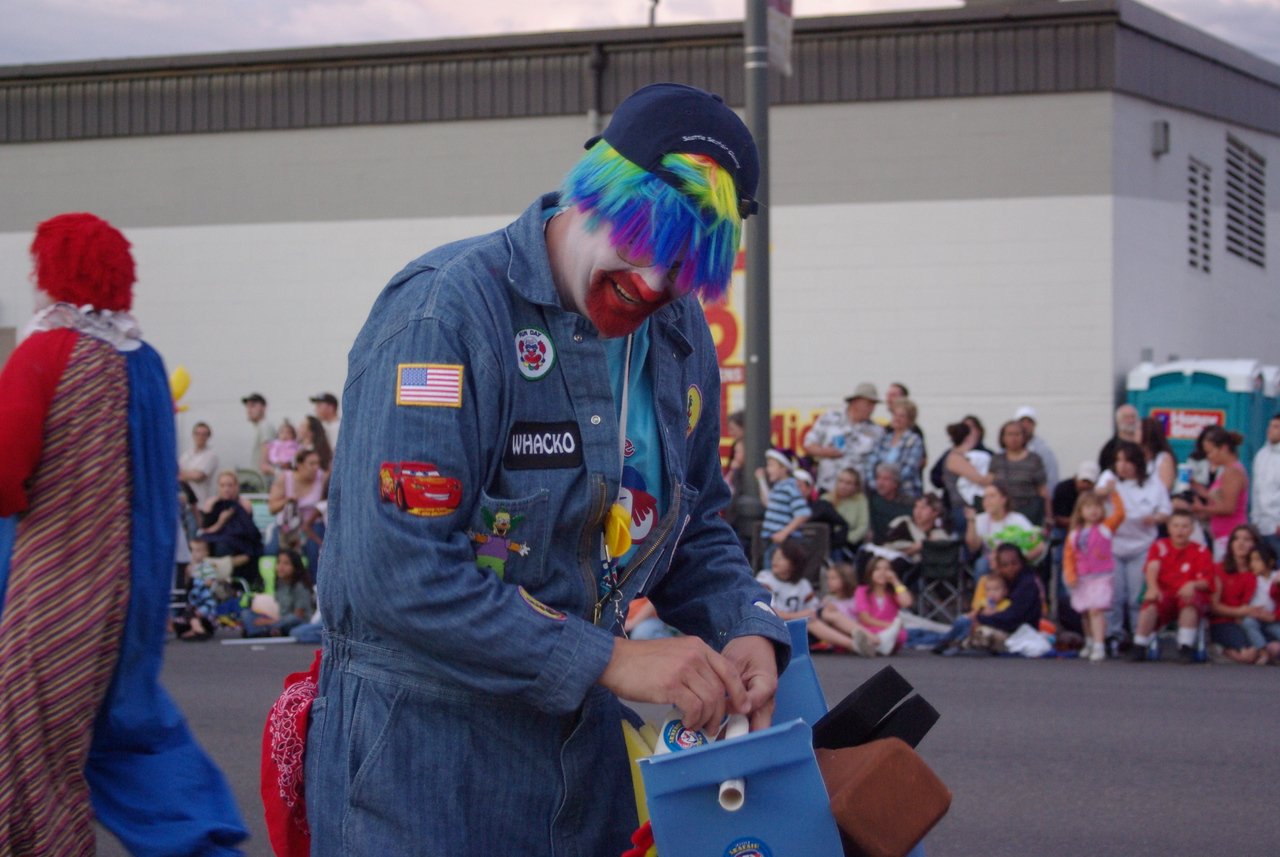 Seafair clown.