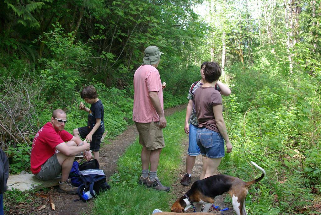 Family Hike.