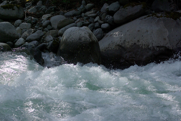Lots of water on Money Creek