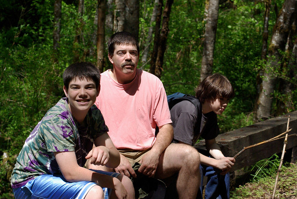 My boys - Jake, Paul, Max