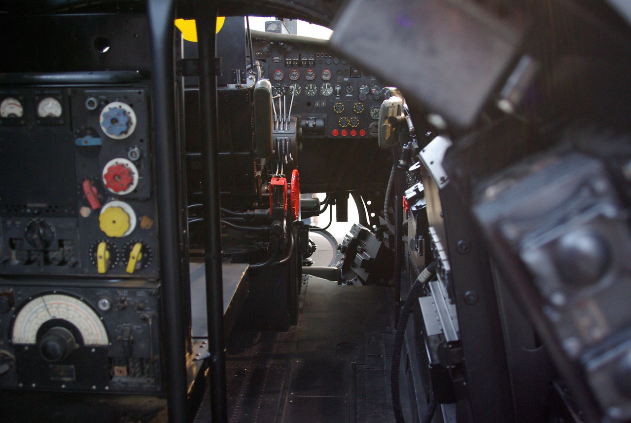 Cockpit of the B17