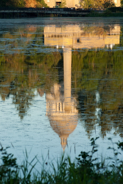 Daily for 08/17/10: Capital Building in Olympia Washington. reflected in Capital Lake.