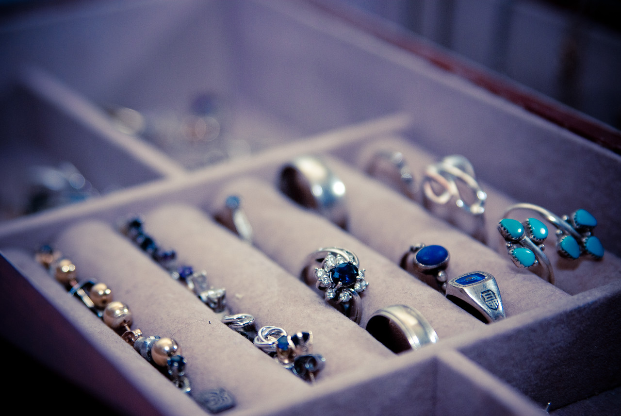 theme:what matters to me<br /> focus: my home<br /> <br /> why this matters: this is my jewelry box. very personal, i know. i don't have the best, largest or most expensive jewelry, but most of it was given to me by special people in my life.