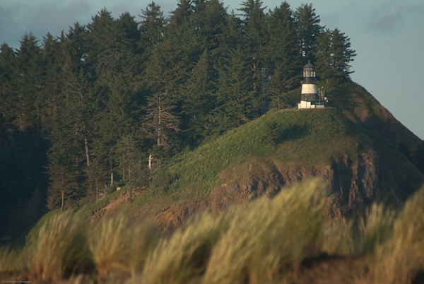Cape Disappointment Lighthouse. North Jetty by the Columbia River, Washington side.  http://www.uscg.mil/d13/sectcolrvr/history/pacnwlighthouses.asp