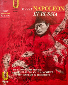 With Napoleon in Russia Book Cover by Irv Docktor