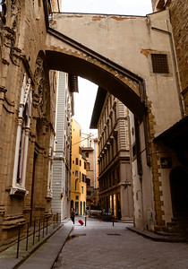The streets of Florence, Italy
