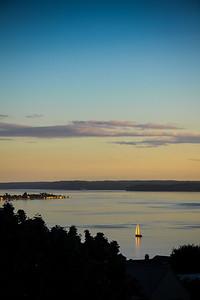 Golden hour on Puget Sound
