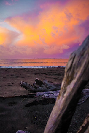 Pacific sunset in Westport, WA