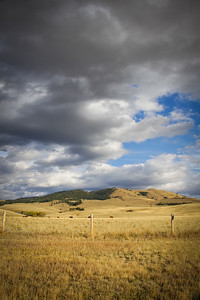 Clouds over big sky country