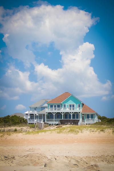 A random beach house on Emerald Isle