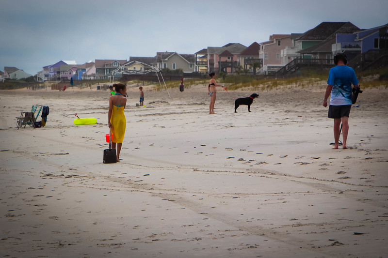 A treasure hunter and his assistant on Emerald Isle