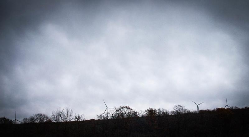 West Virginia wind turbines