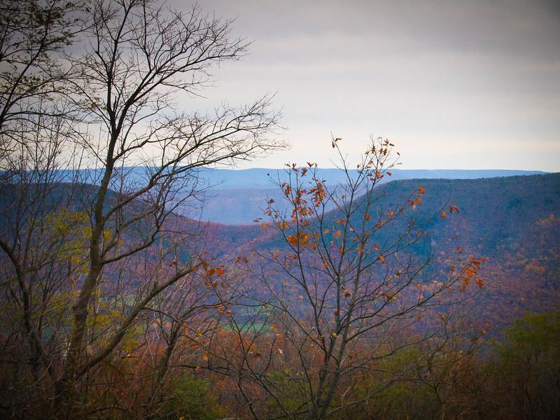 West Virginia skyline
