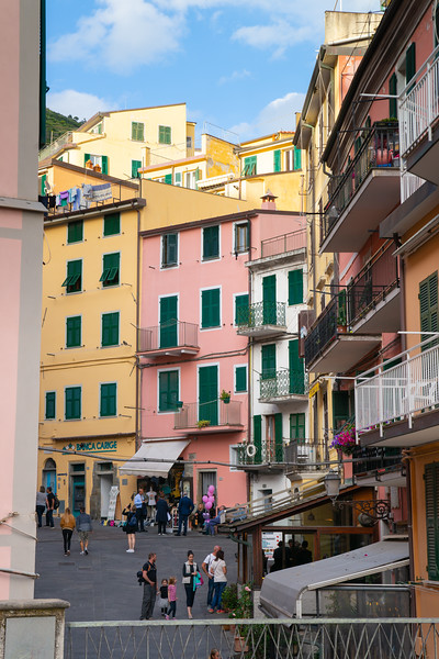 Riomaggiore, Cinque Terre, Italy, May 2018